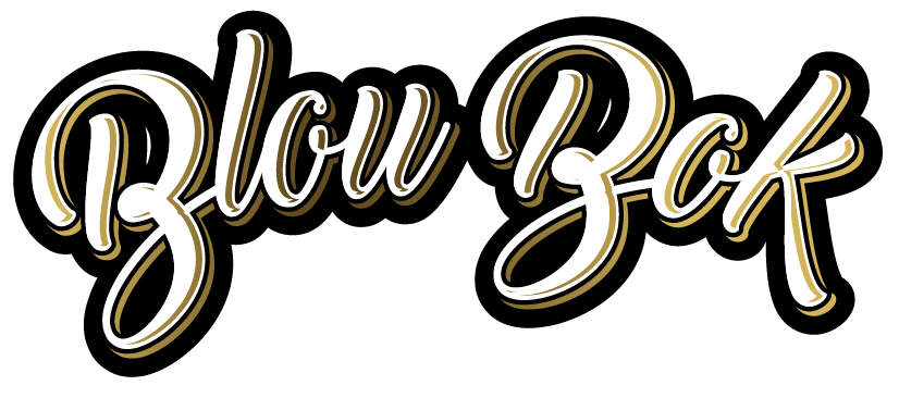 Letterwork of BlouBok beer