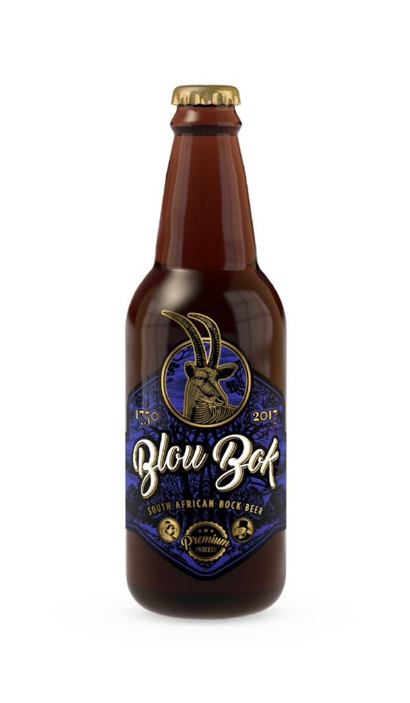BlouBok beer bottle