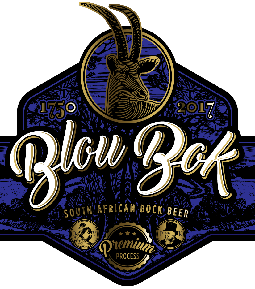 BlouBok beer label