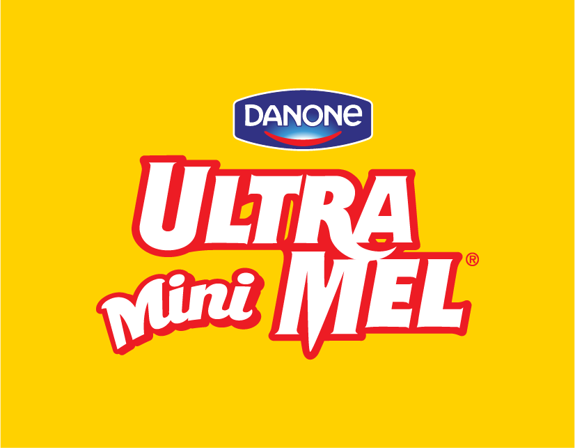 The 'Mini' clip-on graphic, designed to fit into the pre-existing UltraMel logo