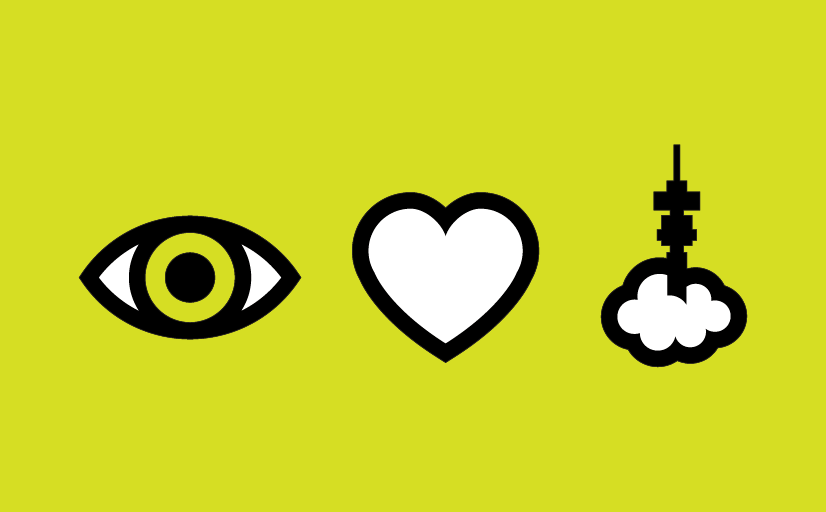 Icons developed for the Eye Love Jozi campaign for TheEyemakers optometrists