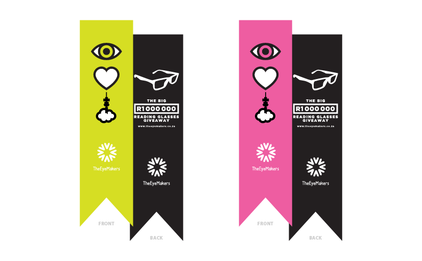 Eye Love Jozi hanging banners