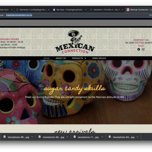 Mexican Connection Website