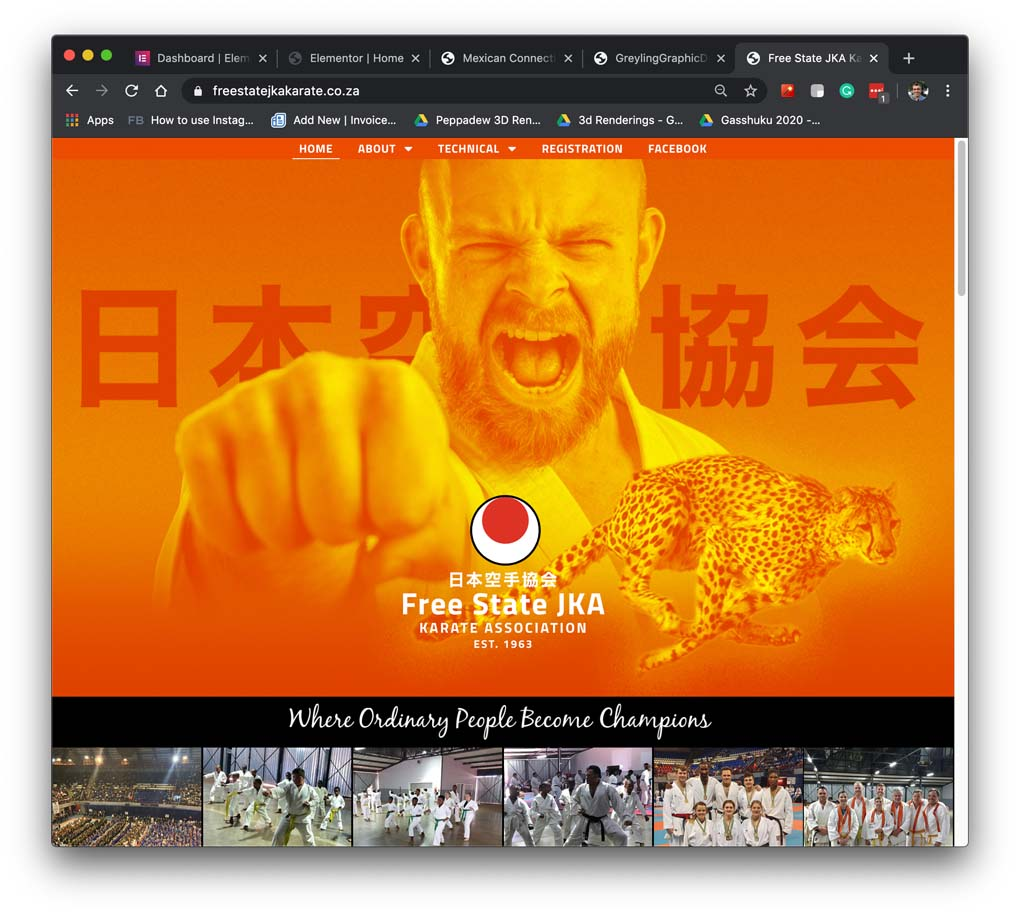 Freestate JKA Karate Website