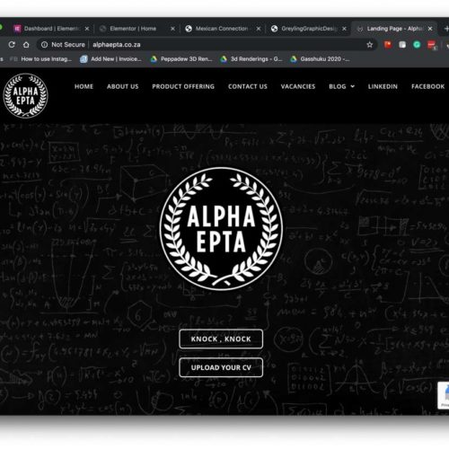 Alpha Epta Website