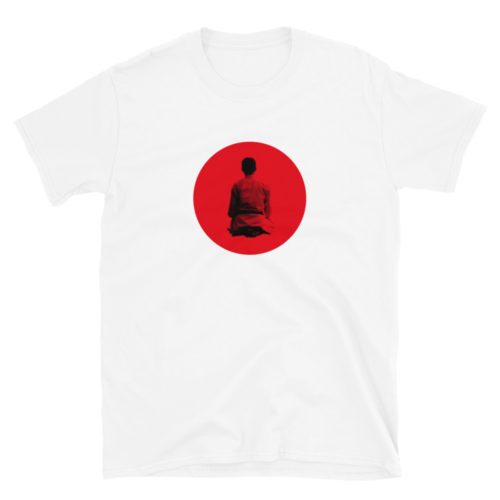 Japanese Flag Seiza Karate T-Shirt