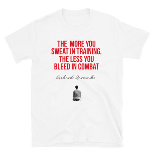 The more you sweat Karate T-Shirt